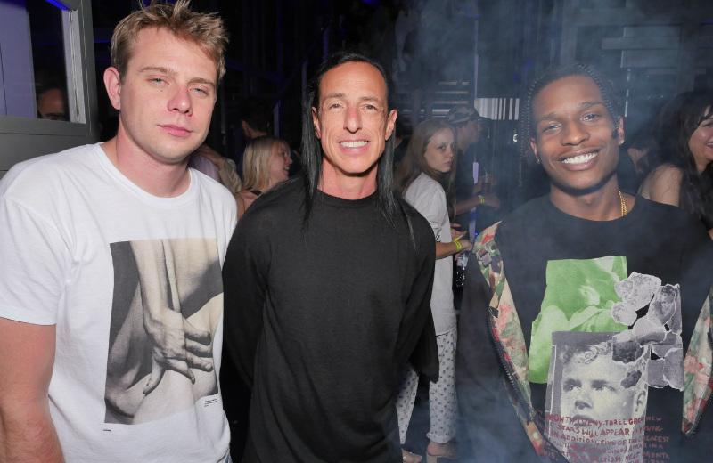 Джонатан Андерсон, Рик Оуэнс иA$AP Rocky после Парижской недели моды в2017 году