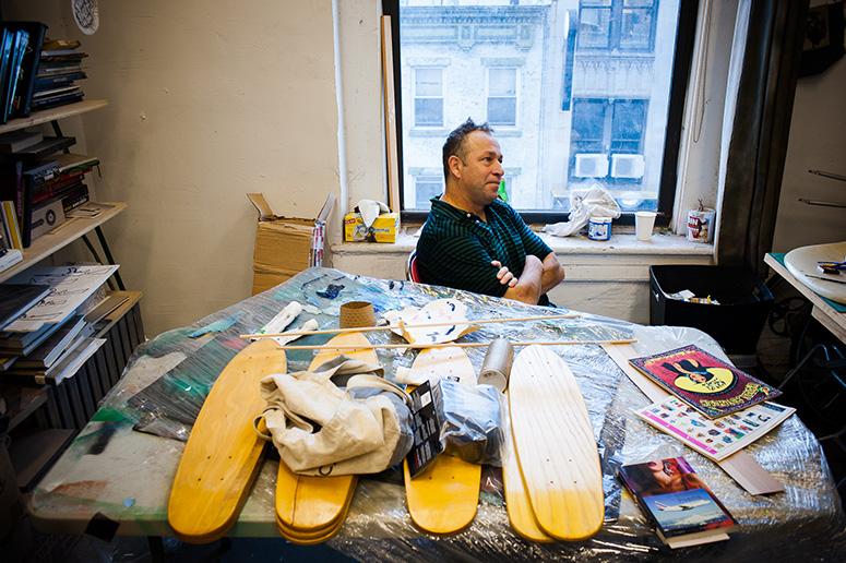 Творческая студия Гонзалеса в Нью-Йорке