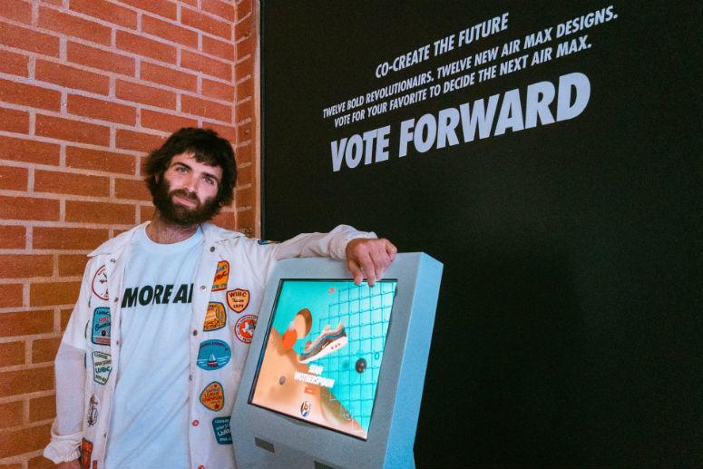 Специальная «кабинка» для голосования