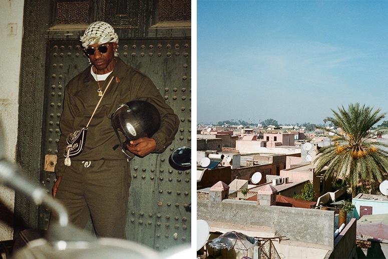 Skepta на улицах Марокко