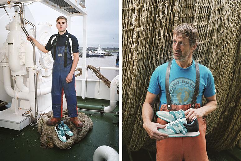 Современные рыбаки в Питерхеде