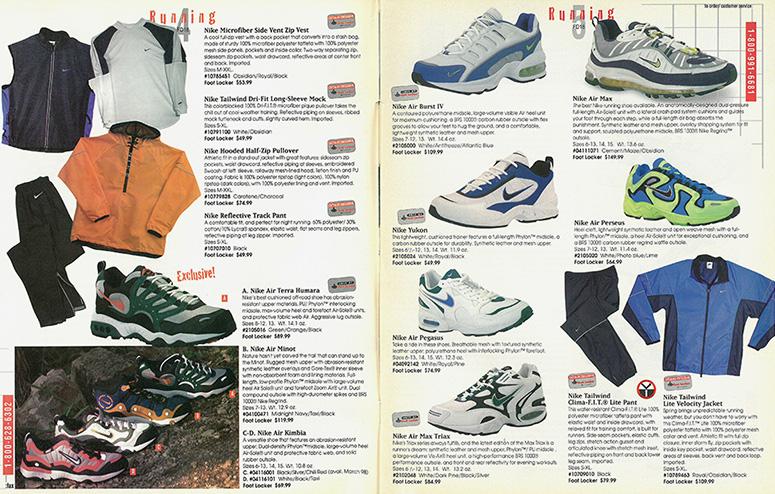 Air Max 98в каталогах