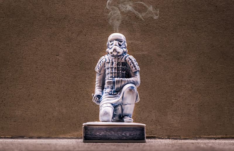 Курильница Yeenjoy Studio вформе штурмовика изЗвёздных Войн