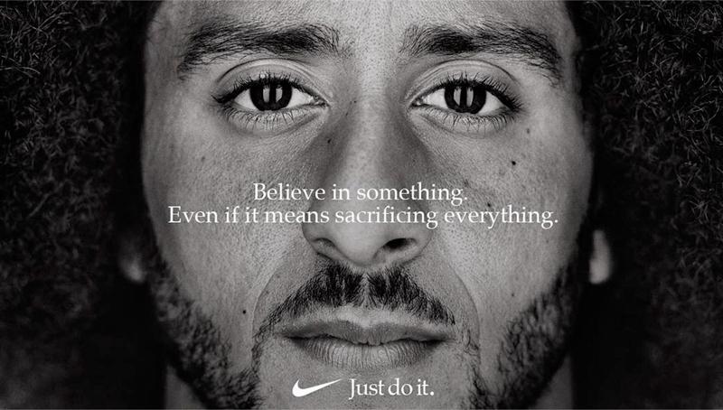 Реклама Nike сучастием Колина Каперника