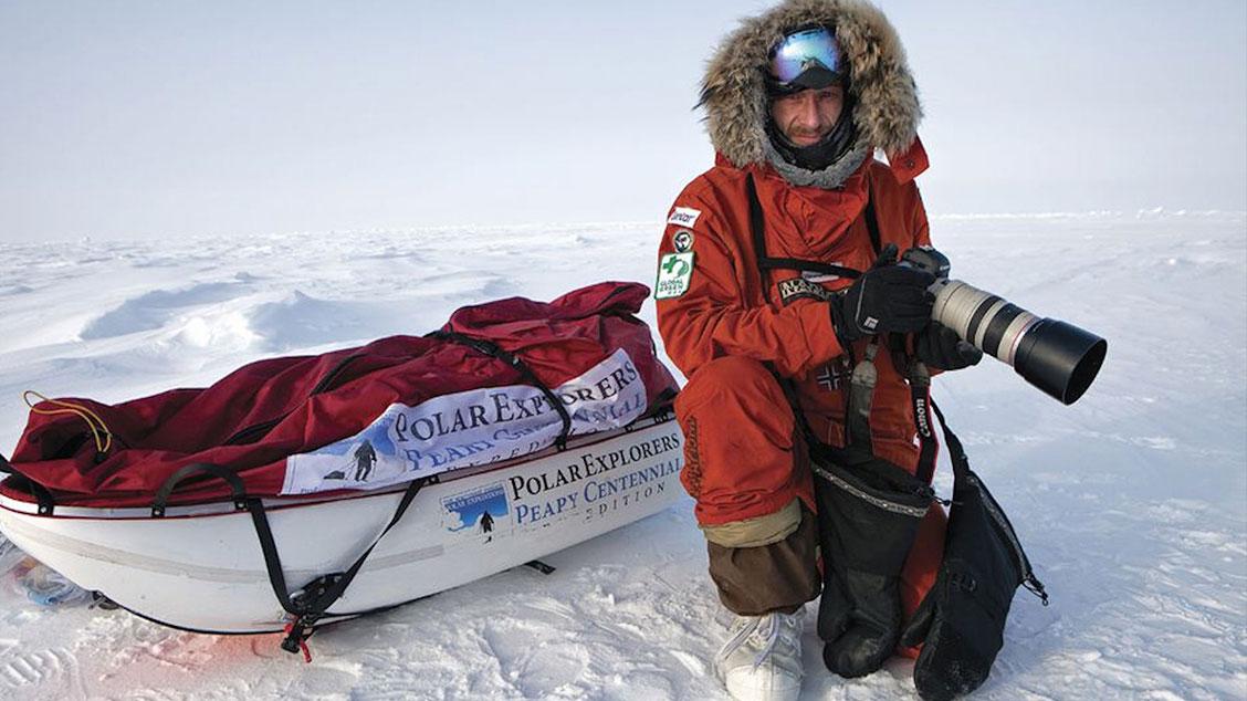 Фотограф и искатель приключений Себастьян Коупленд