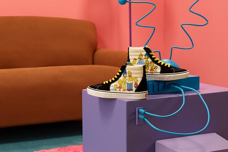 Vans × The Simpsons: к 30-летию мультсериала